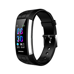 cheap Hair Jewelry-MJ02 Men's Smart Wristbands Android iOS Bluetooth Waterproof Touch Screen Heart Rate Monitor Blood Pressure Measurement Long Standby ECG+PPG Pedometer Activity Tracker Sleep Tracker Sedentary Reminder