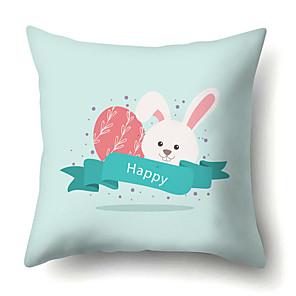 cheap Pillow Covers-Easter Cartoon Rabbit Pillow Case Digital Print Sofa cushion pillow case