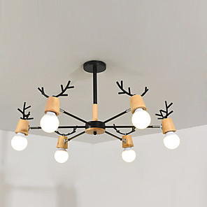 cheap Inflatable Pump-feimiao 6-Light 80 cm Sputnik Design Chandelier Metal Painted Finishes Contemporary / Nordic Style 110-120V / 220-240V
