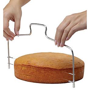 baratos Utensílios para Biscoitos-1pç bolo de cortador Ajustável Rectângular Aço Inoxidável Ferramentas para Forno e Pastelaria Pão