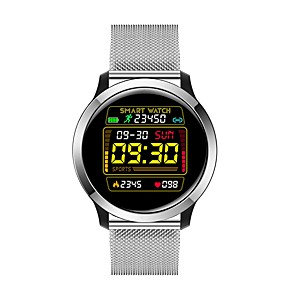 cheap Smartwatches-E18 Unisex Smart Wristbands Android iOS Bluetooth Waterproof Touch Screen Heart Rate Monitor Blood Pressure Measurement Sports ECG+PPG Pedometer Activity Tracker Sleep Tracker Sedentary Reminder