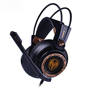 cheap Gaming Headsets-Somic G941 7.1 Virtual Surround Sound USB Gaming Headset with Mic Vibrating for PC Laptop