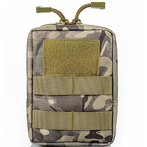 cheap Shoes Covers & Rainshoes-Oxford Cloth Zipper Emergency Survival Bag Solid Color Daily Black / Army Green / Navy Blue
