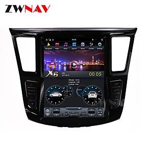 cheap Car DVD Players-ZWNAV 12.1inch 1din 2GB 32GB Tesla style Android 6.0 Car multimedia player Car GPS Navigation Car MP5 Player For Infiniti QX60 Infiniti JX35 2012