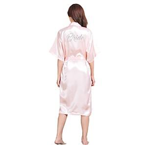 povoljno Seksi donje rublje-Normal Umjetna svila Ogrtači Sexy Slovo Vjenčanje Sashes / Ribbons Sexy