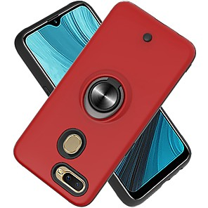 cheap OPPOCase-Case For OPPO Reno2/Reno2 Z/F11 Pro Two-in-one Ring Holder Gyro decompression Back Cover Solid Colored TPU / PC For OPPO F5 Lite/F7/A9 2020/A37/A83/A7/A59/A5/F9