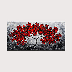 cheap Tattoo Stickers-Newest Handmade Flower Abstract Oil Painting Art for Home Decor Rolled Without Frame
