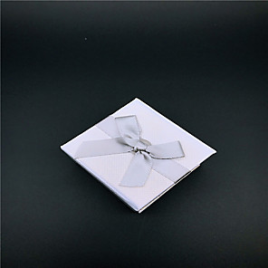 cheap Beads-Cubic Jewelry Boxes - Stylish Gray 5 cm 5 cm 3.5 cm