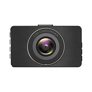 cheap Car DVR-V3 Xiaomi 1080p full HD car dvr 170 degree wide angle cmos 3 inch ips dash cam with g sensor / parking monitoring / loop recording 2 infrared led car recorder front and back double recording