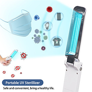 cheap LED Smart Home-Portable UVC Sterilization Stick Disinfection Rod Personal Care Traveling Sterilizer UV Sanitizer Light Cold Cathode UV Lamp