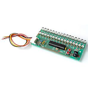 cheap Novelties-LED Light Music Sound Spectrum Dynamic Display Volume Level Indicator Light Display Dual Channel 16 Light