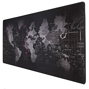 cheap Mouse Pad-Extra Large Mouse Pad Old World Map Anti-slip Gaming Mousepad