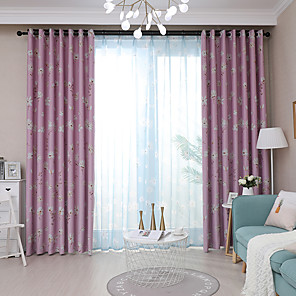 cheap Curtains Drapes-Gyrohome 1PC Daisys Shading High Blackout Curtain Drape Window Home Balcony Dec Children Door *Customizable* Living Room Bedroom Dining Room