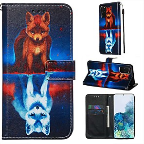 cheap Samsung Case-Case For Samsung Galaxy A90/Galaxy A80/Galaxy A50s Wallet / Card Holder / with Stand Full Body Cases Animal PU Leather For Galaxy A51/A71/S20/S20 Plus/S20 Ultra/A10S/A20S/A30S