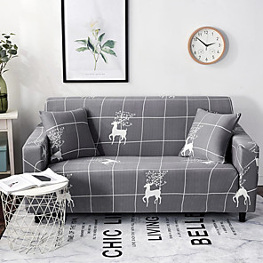 cheap Wall Stickers-2020 New Stylish Simplicity Print Sofa Cover Stretch Couch Slipcover Super Soft Fabric Retro Hot Sale Couch Cover (1 free pillowcase)