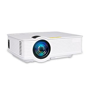 cheap Projectors-GP9 Mini LED LCD Portable Projector 1000 lumens support USB/SD/VGA/AV/HDMI