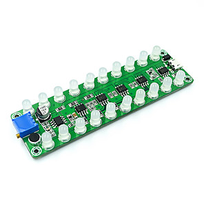 cheap Smart Wristbands-LED Indicator For Sound Control Induction Amplifier Frequency Spectrum Audio Level Meter