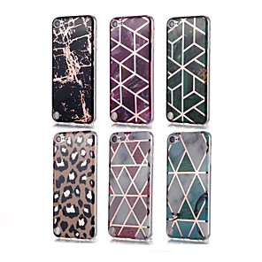cheap OBD-Case For iTouch 5/6 Plating / Pattern Back Cover Soft