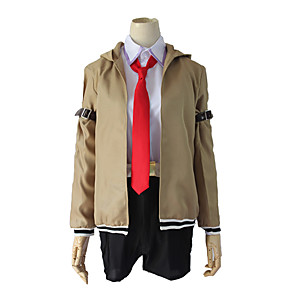 cheap iPhone Cases-Inspired by Steins;Gate Makise Kurisu Anime Cosplay Costumes Japanese Cosplay Suits Coat Sleeves For Women's