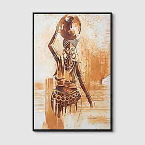 cheap Framed Arts-Framed Art Print Framed Canvas Prints - People PS Illustration Wall Art
