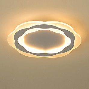 cheap Dimmable Ceiling Lights-40 cm Dimmable / Geometric Shapes Flush Mount Lights Acrylic Acrylic Geometrical / Novelty Chic & Modern / Modern 110-120V / 220-240V
