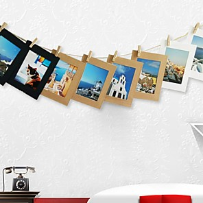 cheap Hanging Picture Frames-Modern Contemporary Acetate Multi-Ply Picture Frames Wall Decorations, 1pc Picture Frames