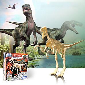 cheap 3D Puzzles-3D Puzzle Dinosaur Fossil Dinosaur Figure Dinosaur Animals Cute Parent-Child Interaction Plastic Kid's Child's All Toy Gift