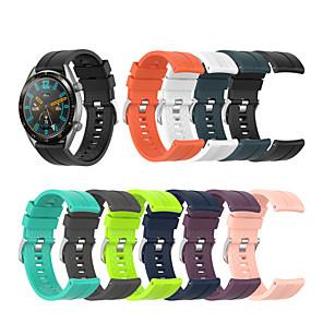cheap Smartwatch Bands-Watch Band for Huawei Watch GT / Huawei Watch GT Active / Huawei Watch GT2 46mm Huawei Classic Buckle Silicone Wrist Strap