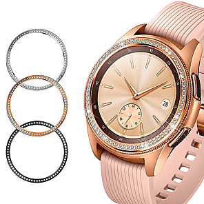 cheap Smartwatch Bands-Fashion Bling Bezel For Samsung Galaxy Watch 42mm/46mm Case Gear S3 Frontier/Classic/S2/Sport Adhesive Cover band Accessories 46/42