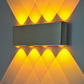 cheap Indoor Wall Lights-Creative / New Design LED / Modern LED Wall Lights Shops / Cafes / Office Aluminum Wall Light IP44 Generic 1 W