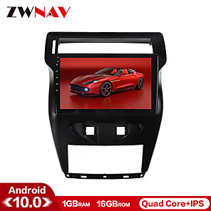 cheap Car DVD Players-ZWNAV 10.1inch 1din Android 10 1G 16G Car GPS Navigation Car Multimedia Player Car MP5 Player Steering Wheel Control Mirror Link North America Map Bluetooth Wifi For Citroen C-Quatre 2012-2017