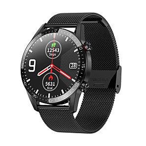 cheap Smartwatches-L13 Smart Watch Men ECGPPG IP68 Waterproof Bluetooth Call Blood Pressure Heart Rate Fitness Tracker sports Smartwatch