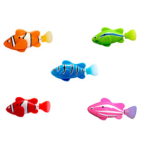 cheap Wetsuits, Diving Suits & Rash Guard Shirts-Interactive Toy Cat Pet Toy 1pc Pet Friendly Fish Plastic Gift