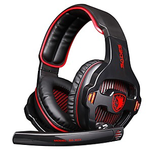 cheap Gaming Headsets-SADES SA-903 High-Performance 7.1 USB PC Headset Deep Bass Gaming Headphones With LED Micphone For Games Player