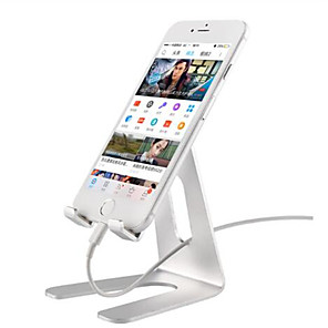 cheap Phone Mounts & Holders-Universal Desktop Phone Tablet Stand Holder For iPhone 8 Plus XS MAX XR For Samsung S9 For Huawei 20 Pro Support Bracket