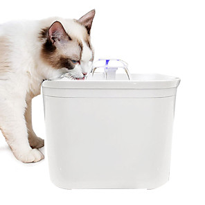 cheap LED Smart Home-Pet Feeder Pet Drinking Water Fountain UV Germicidal Disinfection Water Dispenser USB 5V DC Protect Your Dogs Cats And Other Pets