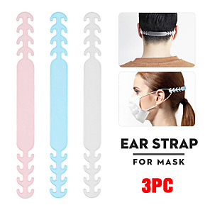 cheap Mobile Phone Sterilizer-3PC Mask Hanging Buckle Relieving Ear Pain Anti-Slip Mask Ear Grips Extension Hook Adjustable Four Gear
