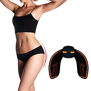 cheap Fitness Gear & Accessories-Hip Trainer Abs Stimulator EMS Abs Trainer Sports Silicon PU (Polyurethane) ABS Resin Exercise & Fitness Gym Workout Smart Electronic Durable Lift, Tighten And Reshape The Plump Buttock Shaper Muscle