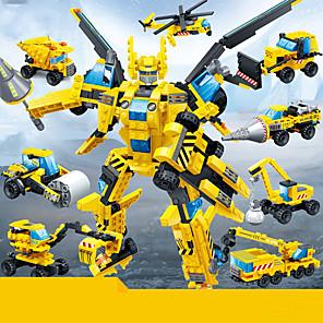 cheap Building Blocks-Building Blocks 1 pcs Robot Creative Construction Vehicle compatible Plastic Shell Legoing DIY Parent-Child Interaction All Toy Gift