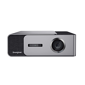 cheap Projectors-DangBei DBF1C 1920*1080 Dlp Full HD Projector 1300 ANSI Lumens Home Theater projector Support 3D 4K Android Wifi Bluetooth Beamer