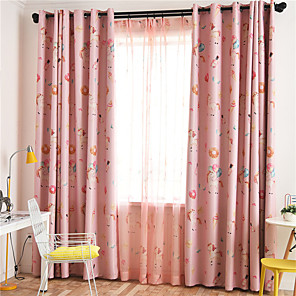 cheap Curtains Drapes-Gyrohome 1PC Unicorn Shading High Blackout Curtain Drape Window Home Balcony Dec Children Door *Customizable* Living Room Bedroom Dining Room