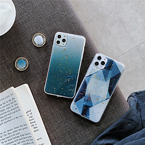 cheap iPhone Cases-Case For Apple iPhone 11 / iPhone 11 Pro / iPhone 11 Pro Max Ring Holder / Pattern / Glitter Shine Back Cover Geometric Pattern / Glitter Shine TPU
