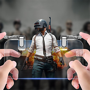 cheap Smartphone Game Accessories-K03 Game Trigger For Android / iOS ,  Portable / New Design Game Trigger PP+ABS 1 pcs unit