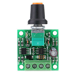 cheap Motherboards-Low Voltage DC PWM Motor Speed Controller Module 1.8V 3V-5V-6V 12V 2A N8N9