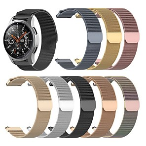 cheap Smartwatch Bands-Watch Band for Huawei Honor MagicWatch 2 42MM / MagicWatch 2 46MM Huawei Milanese Loop Stainless Steel Wrist Strap