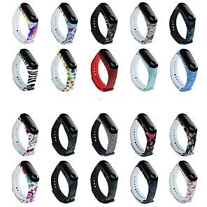 cheap Smartwatch Bands-Watch Band for Mi Band 3 / Xiaomi Mi Band 4 Xiaomi Sport Band Silicone Wrist Strap