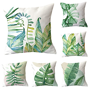 cheap Pillow Covers-6 pcs Throw Pillow Simple Classic 45*45 cm