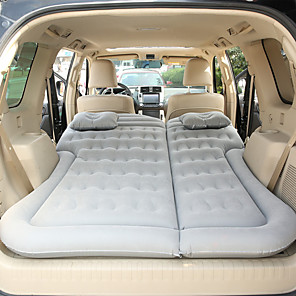 cheap Car Seat Covers-Air Pad Air Bed Outdoor Camping Portable Soft Compact Flocked 180*130 cm for 2 person Camping Camping / Hiking / Caving Traveling All Seasons Black Blue Grey