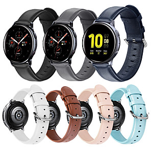 cheap Smartwatch Bands-Watch Band for Gear S2 / Samsung Galaxy Watch 42mm / Samsung Galaxy Active Samsung Galaxy Leather Loop / Modern Buckle / Business Band Quilted PU Leather Wrist Strap