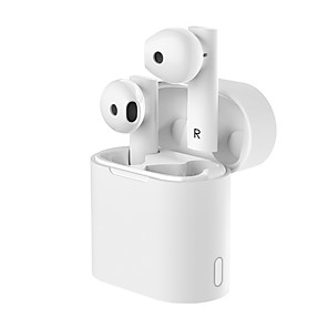 cheap Wired Earbuds-LITBest Mir 6 TWS True Wireless Earbuds Wireless Stereo Dual Drivers with Volume Control HIFI with Charging Box for Gaming
